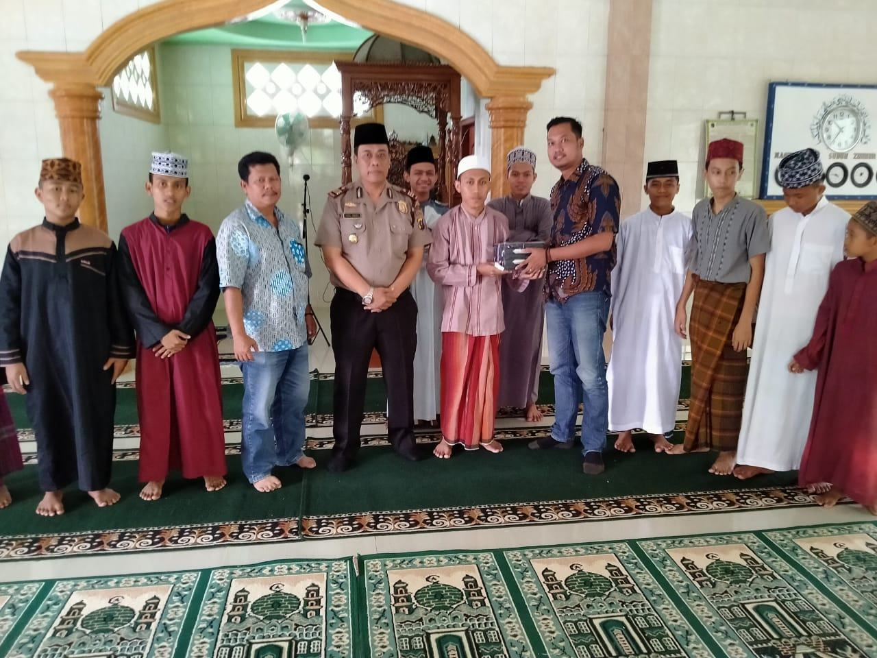 Kapolsek Marbau, Lakukan Kunjungan ke Tuan Guru