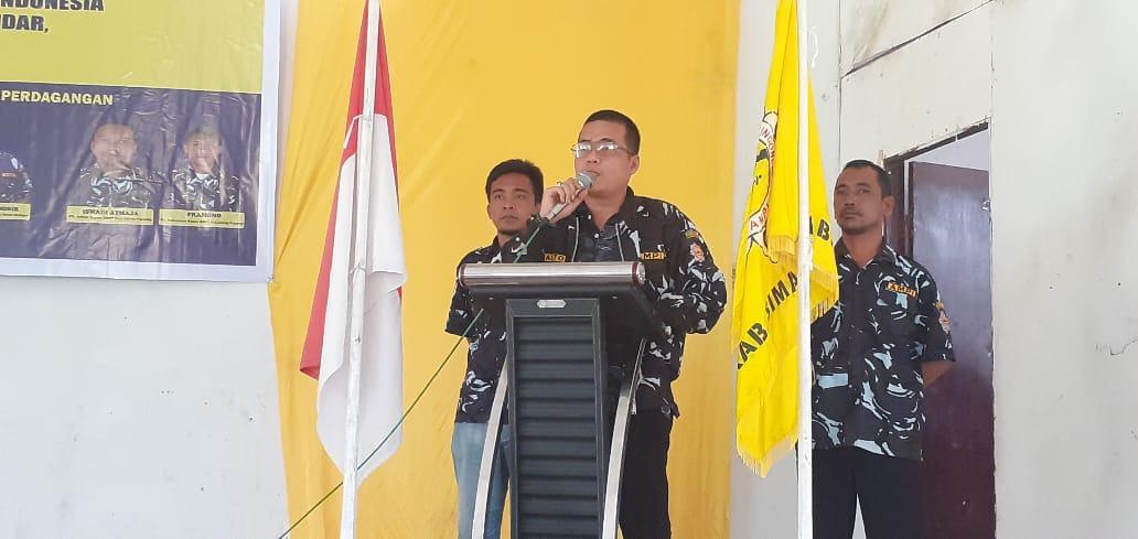 Ketua DPD AMPI Simalungun, Anton Butar - Butar Lantik 4 AMPI Rayon