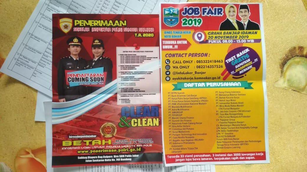 Job Fair Tahun 2019, Disnaker Kota Banjar Siapkan 3000 Loker