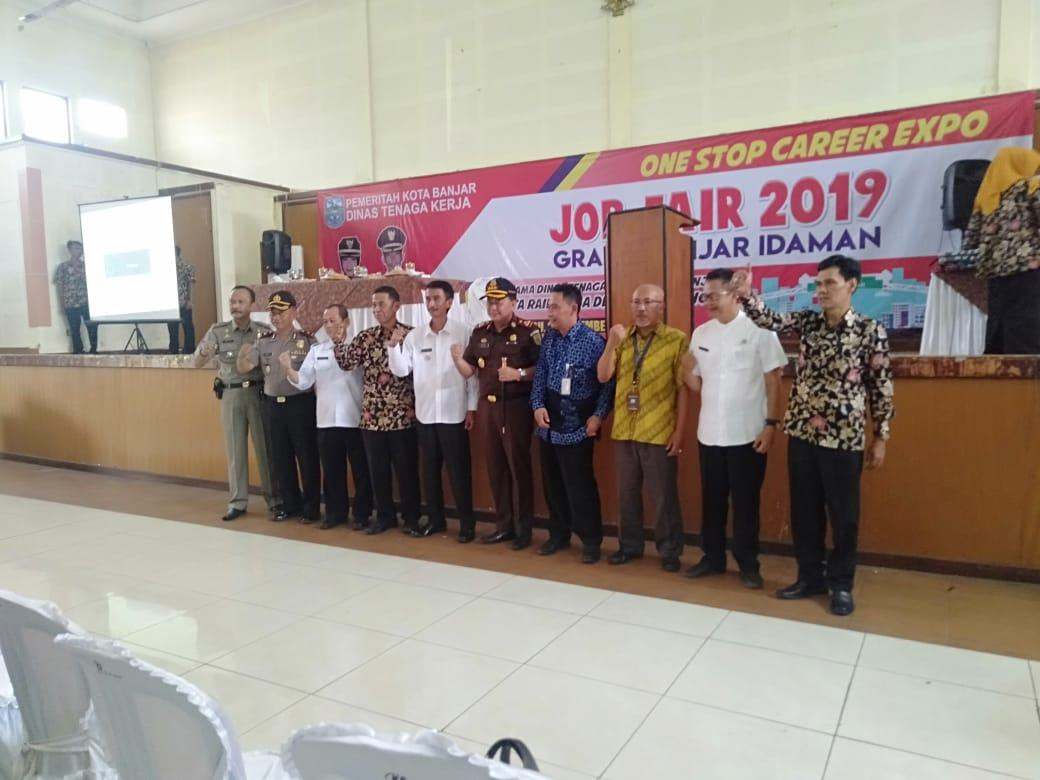 Job Fair Tahun 2019, Walkot Banjar Berharap Masyarakat Manfaatkan Moment Ini