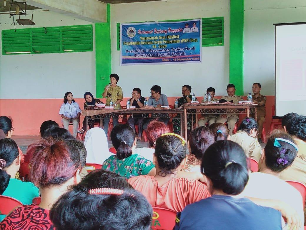 Perencanaan 2020 : 60 Desa di Tapteng Sudah Musdes