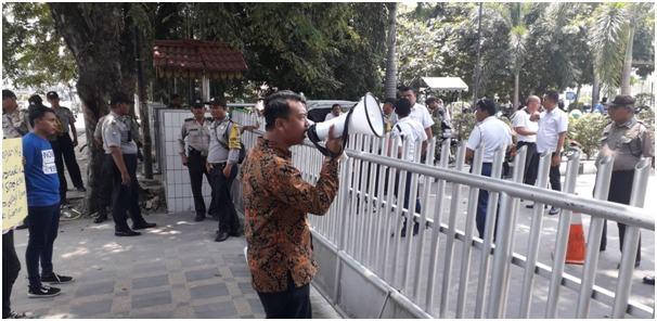 KORPUS API SUMUT, Minta Gubernur Evaluasi Kinerja Pimpinan PDAM Tirtanadi Sumut