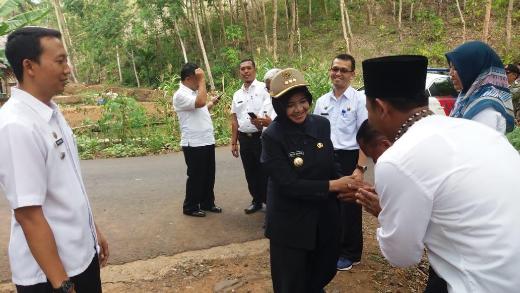 Walikota Banjar, Laksanakan Kunjungan Kerja di Desa Sukamukti