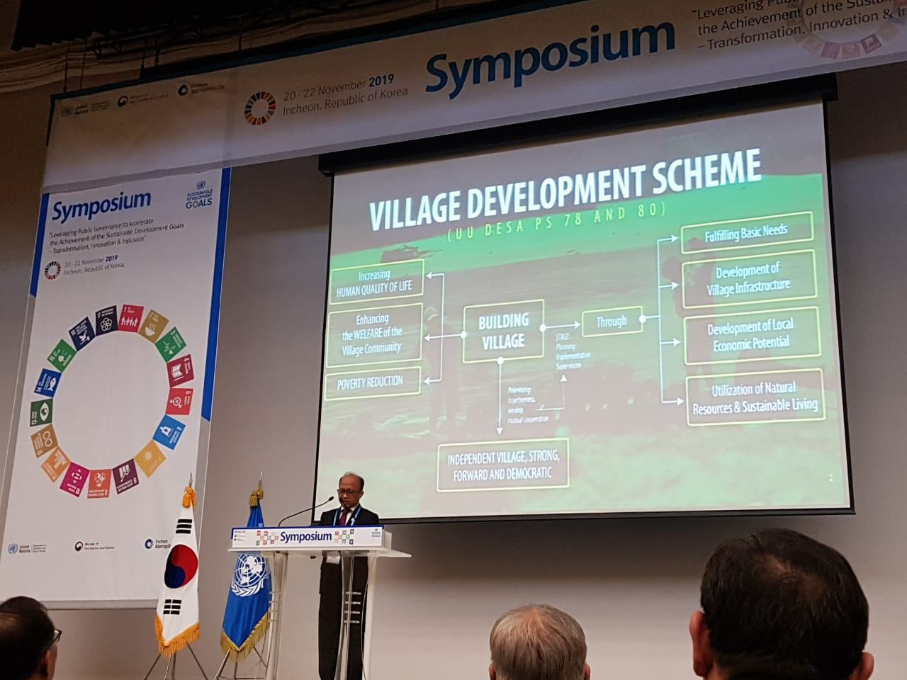 Kemendesa, Representasikan Komitmen Indonesia untuk Pencapaian SDGs 2030