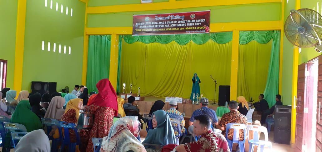 Hari Guru 2019, Guru Aceh Tamiang Unjuk Kebolehan
