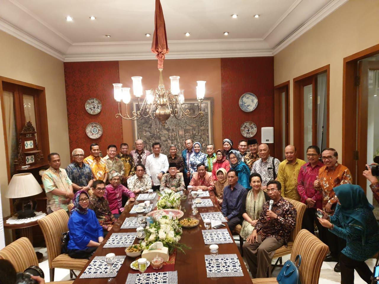 Alumni HMI Jadi Menteri, Mahfud Cerita Pernah Diberi Haparan Palsu