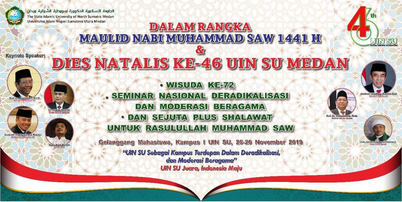 UINSU, Gelar Seminar Nasional Sejuta Sholawat