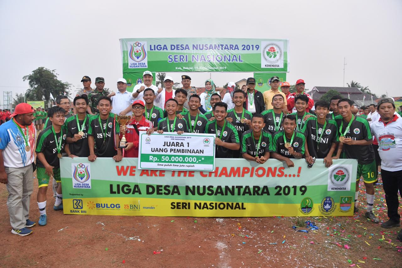 LDN 2019 Berakhir, Wakil Sumsel Juara 1