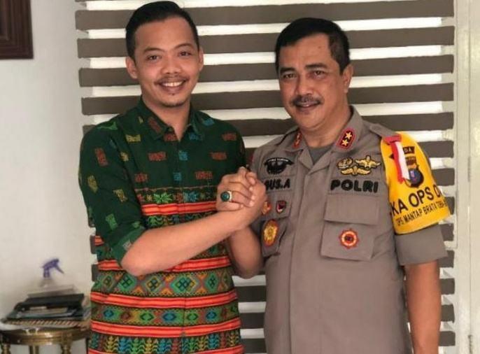 Ketua Umum Badko HMi Sumut, Alwi Hasbi Silalahi