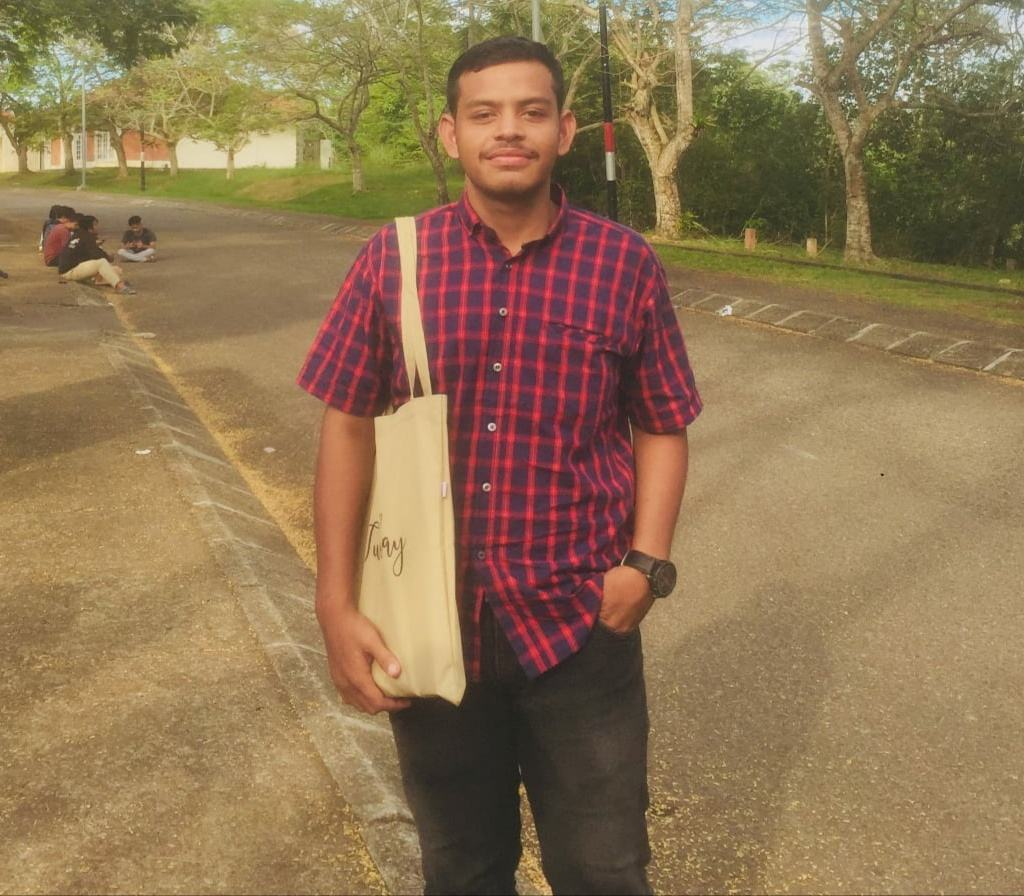 Jalan Langkahan Rusak,Mahasiswa Unimal Pinta Kepekaan Pemkab Aceh Utara