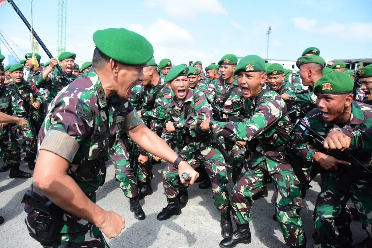 Jaga Perbatasan Indonesia Malaysia, Pangdam I/BB Berangkat Satgas Yonif 133/YS
