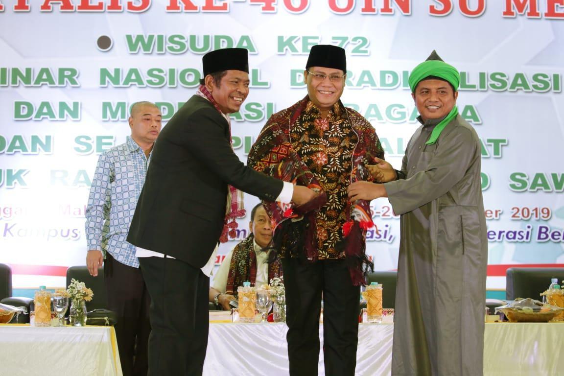 Ahmad Basarah dan Rektor UINSU sepakati Bentuk Laboratorium Penguatan Ideologi Pancasila