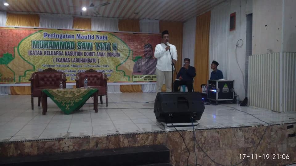 DPC IKANAS Labuhanbatu, Gelar Peringatan Maulid Nabi Muhammad SAW