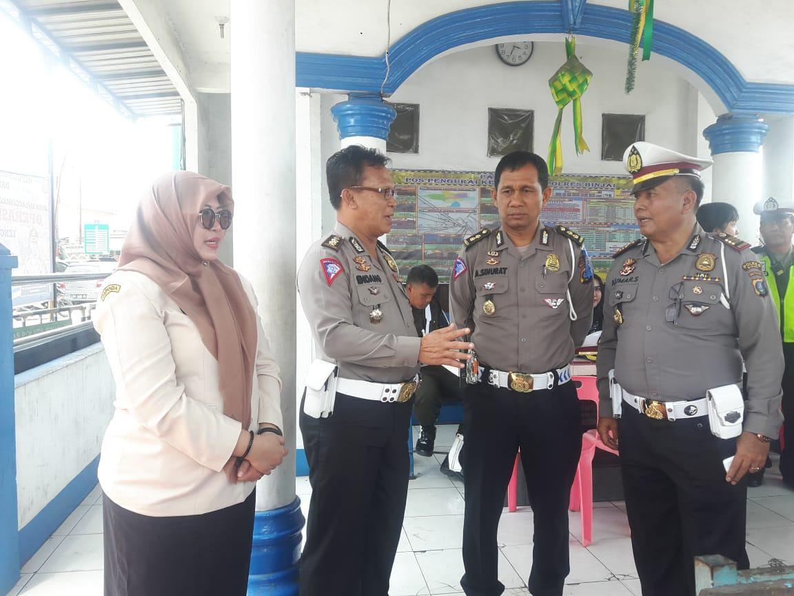 Kepala UPT PPD BPPRDSU Binjai Tinjau Samkel Pembayaran Pajak Kendaraan