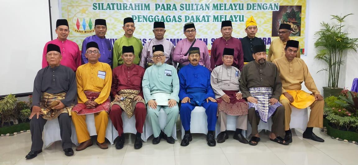 Para Sultan Gelar Silaturahmi, Untuk Kemaslahatan Melayu Sumut