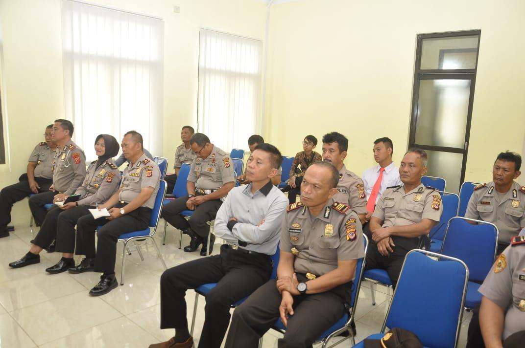 Anggota Kompolnas, Kunjungi Mapolres Banjar