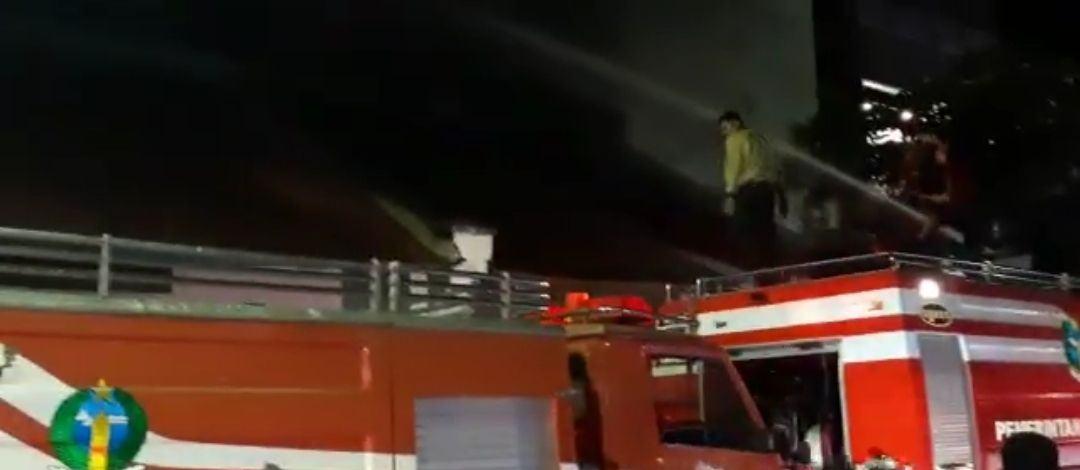 Kebakaran di Jalan Imam Bonjol Sibolga