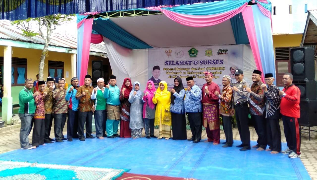 MTS se Kabupaten Langkat, Laksanakan Porseni