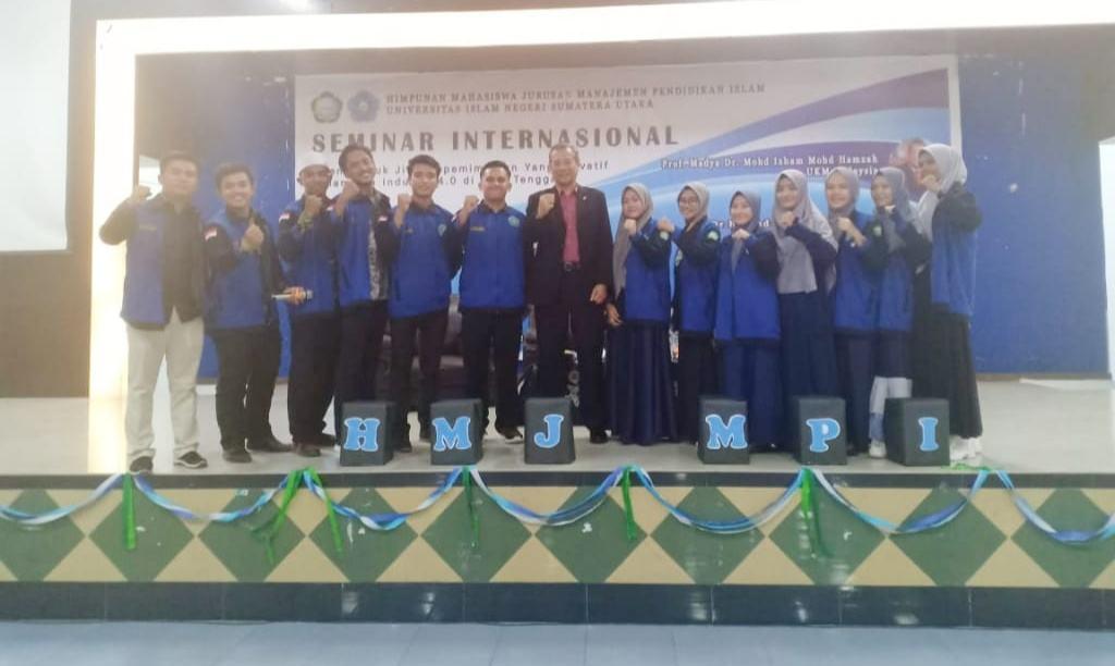 Seminar Internasional HMJ MPI UIN-SU, Bahas Jiwa Kepemimpinan Dalam Era 4.0