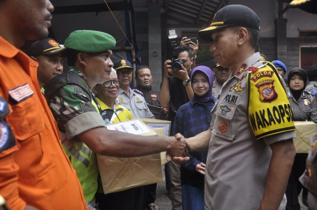 Wakapolda Jabar, Tinjau Pos PAM di Kota Banjar