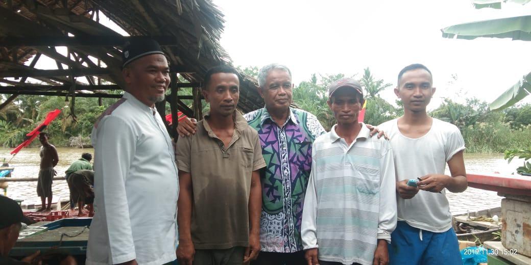 Nelayan Tanjung Pura, Djohar Arifin Sambangi Nelayan Serap Aspirasi