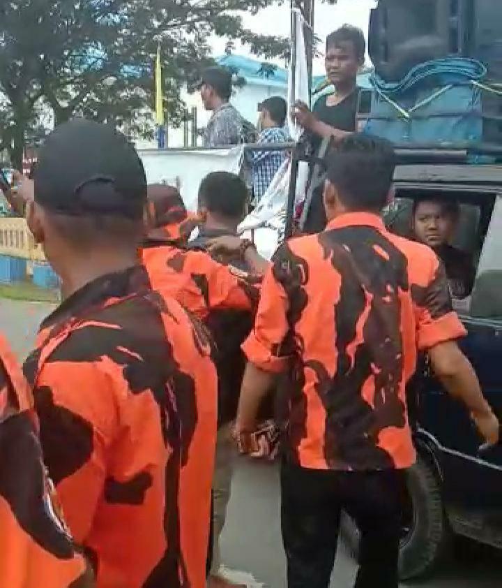 Demo di Batubara, Massa Asmara Dihadang OKP