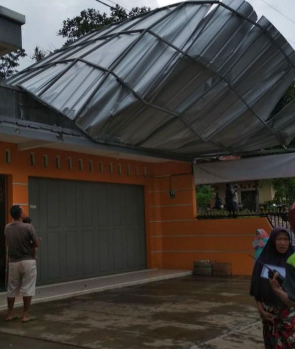Hujan di Ciamis, Porak-porandakan 5 Kecamatan