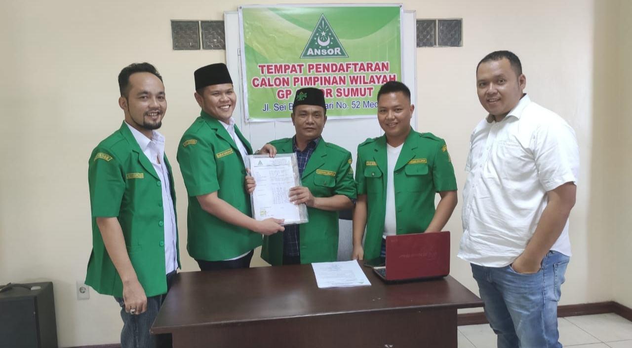 GP Ansor Sumut, Adlin Umar Yusri Siap Maju