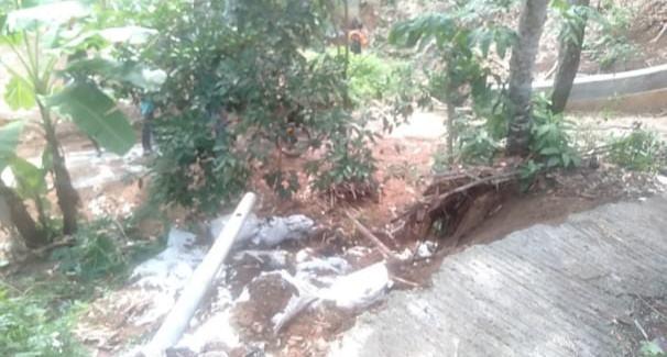 Hujan di Banjar, Bencana Longsor Ancam 4 Rumah Warga