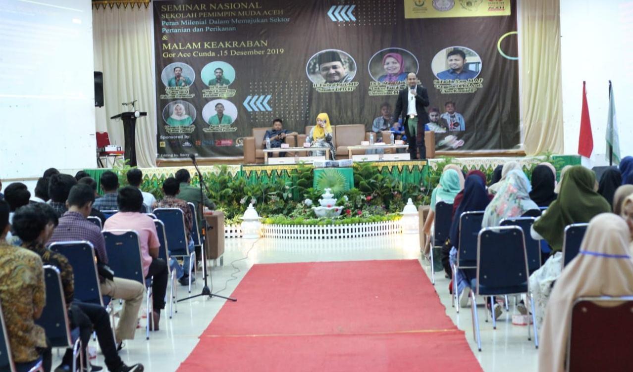 Seminar Pemimpin Muda, BEM Unimal Majukan Sektor Pertanian dan Perikanan