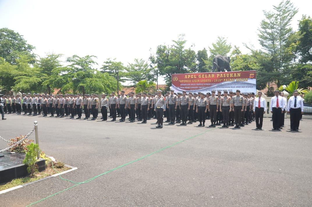 Jelang Natal dan Tahun Baru, Polres Banjar Terjunkan 370 Personel