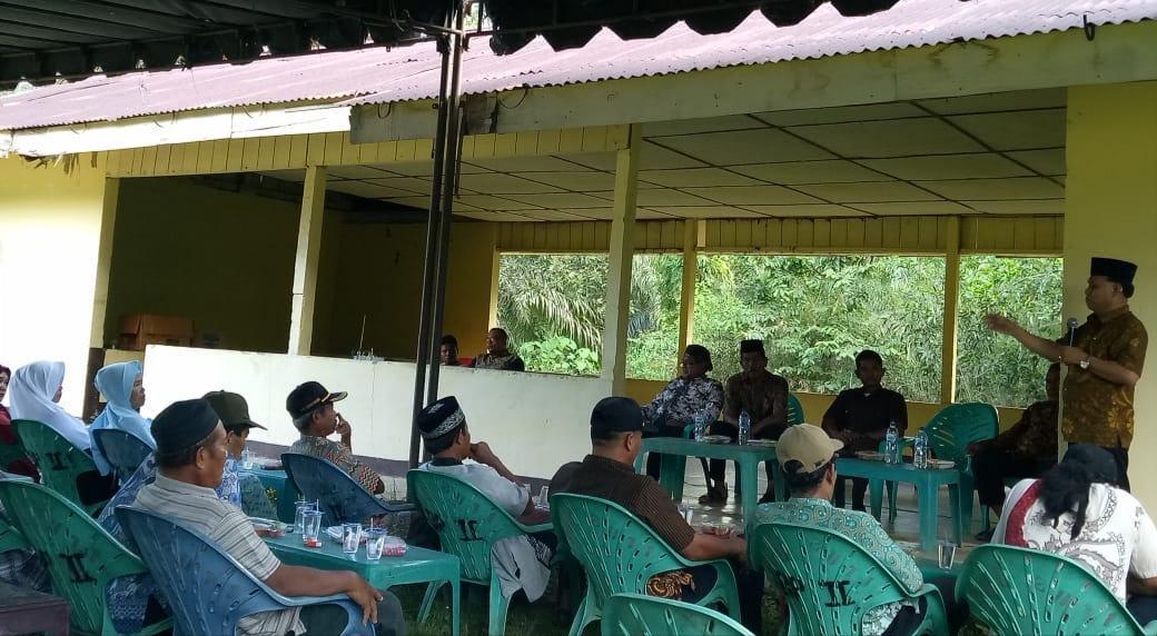 Ketua DPRD Paluta, Reses di Desa Batang Pane II
