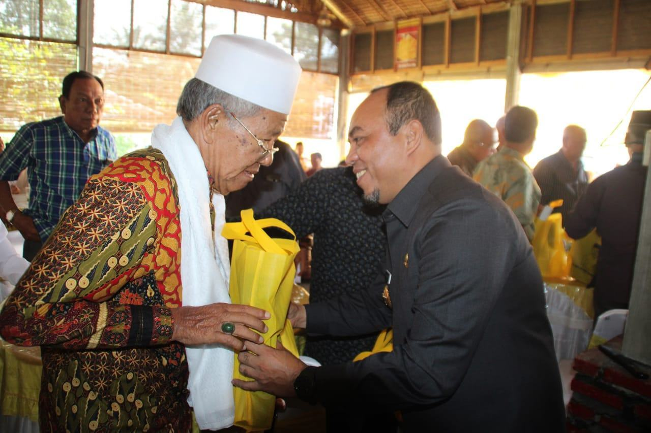 Pembangunan Labuhanbatu, Andi Suhaimi Minta Saran dan Masukan dari Tokoh Masyarakat