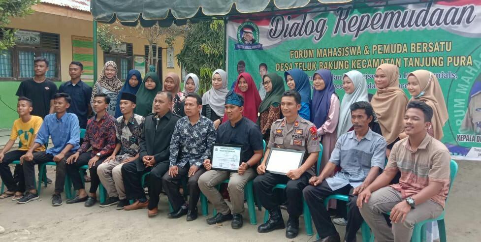 FMPB Desa Teluk Bakung, Gelar Dialog Kepemudaan Menuju Desa Maju dan Berprestasi