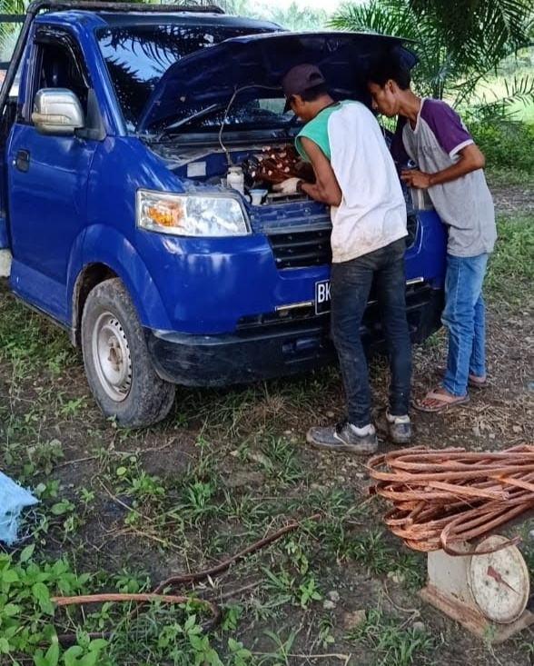Pencurian Kawat Tembaga di PLTU Pangkalan Susu, Tersangka Masih Bebas Berkeliaran
