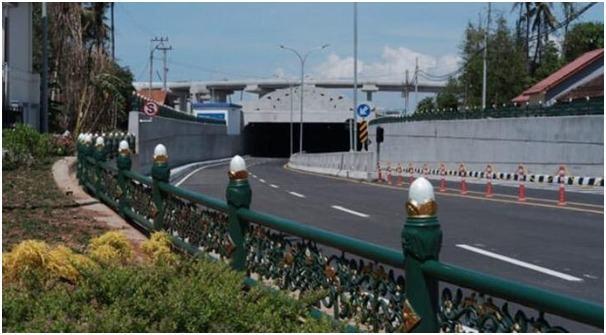 Kementerian PUPR, Rampungkan Underpass Terpanjang di Indonesia