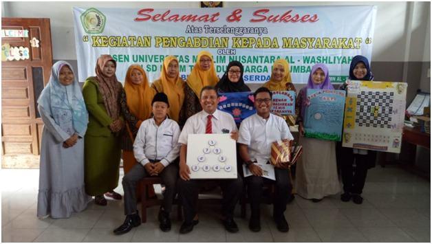 Dosen Pendidikan Matematika UMN Al- Washliyah, Gelar Pengabdian Masyarakat