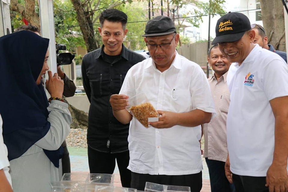Ahyar Nasution, Siap Fasilitasi Kreator Ekonomi Kreatif Kota Medan