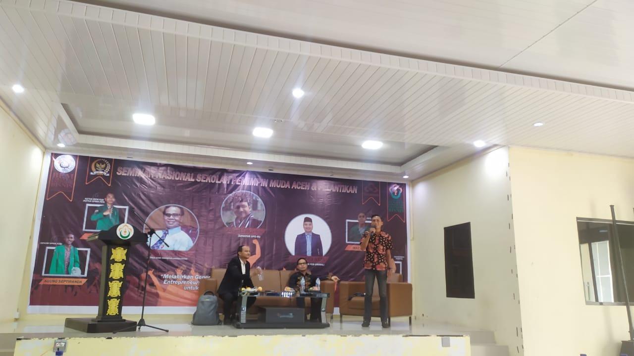 Mutu Pemuda Aceh, BEM FEB Unimal dan SPMA Bangun Kerjasama