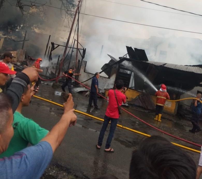 Kebakaran di Pematang Siantar, Diduga Pemicu Pertengkaran Orangtua dan Anak