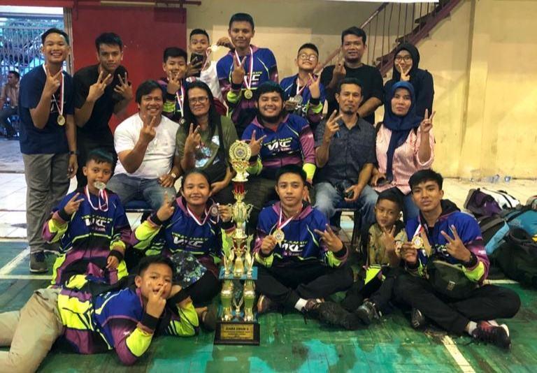 Violet Karate Club Siantar, Raih Juara 2 Umum Kejurda Sumut