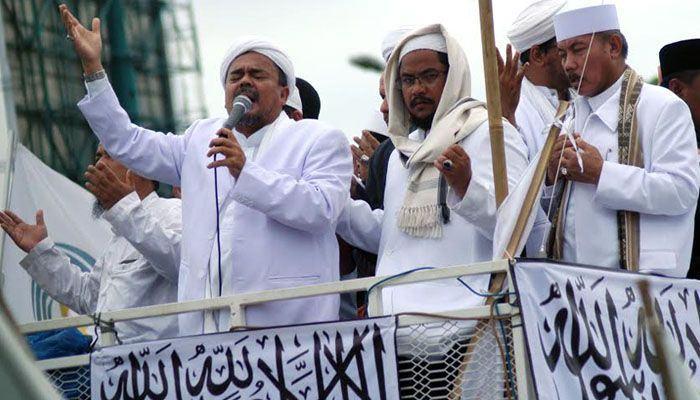 Pidato Habib Rizieq, Merasa diasingkan Penguasa di Reuni 212