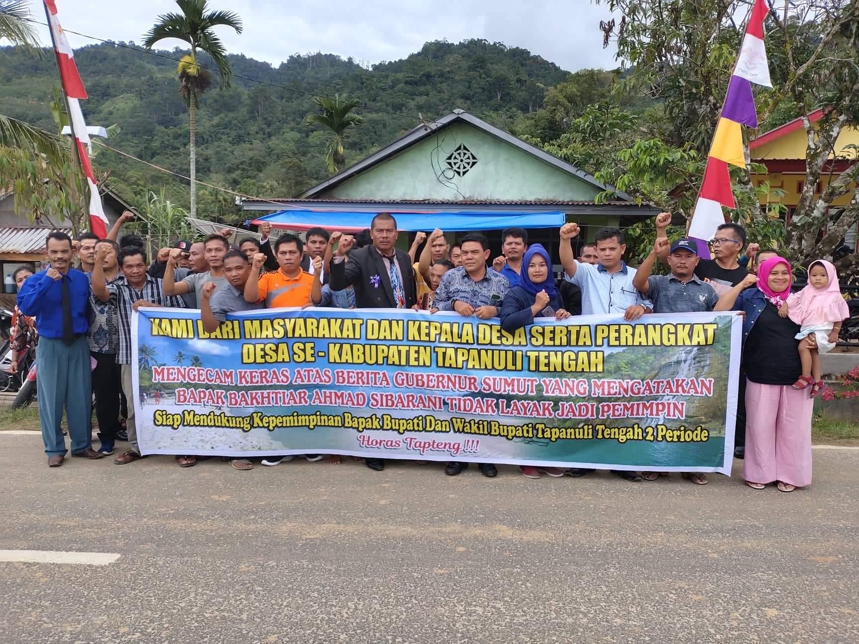 DPC P-APDESI Dukung Kinerja Bupati Tapteng dan Kecam Pernyataan Gubernur Sumut