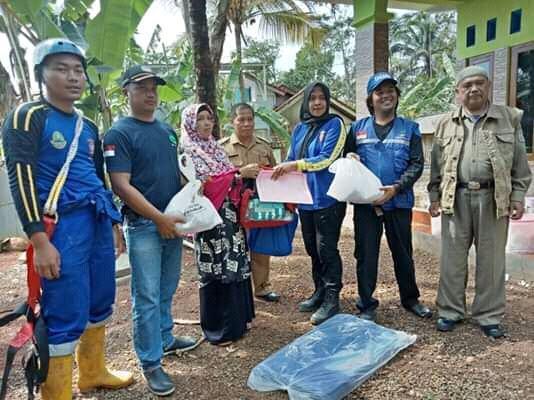 Dinas Sosial Ciamis, Bantu Ringankan Derita Keluarga Korban
