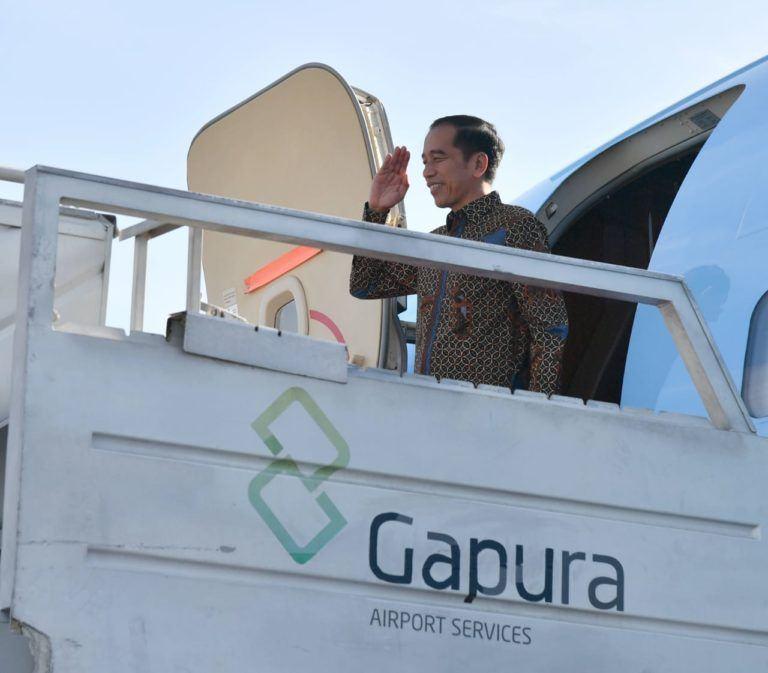 Jokowi Terbang ke Abu Dhabi Temui Putra Mahkota UEA Bahas Investasi