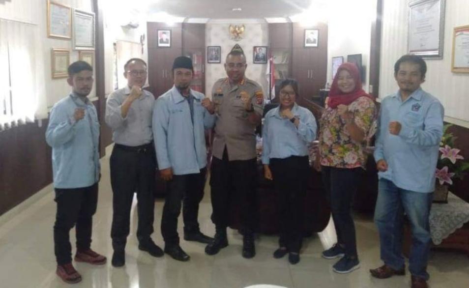 DPD Mapancas Kota Medan, Audiensi dengan Kapolrestabes