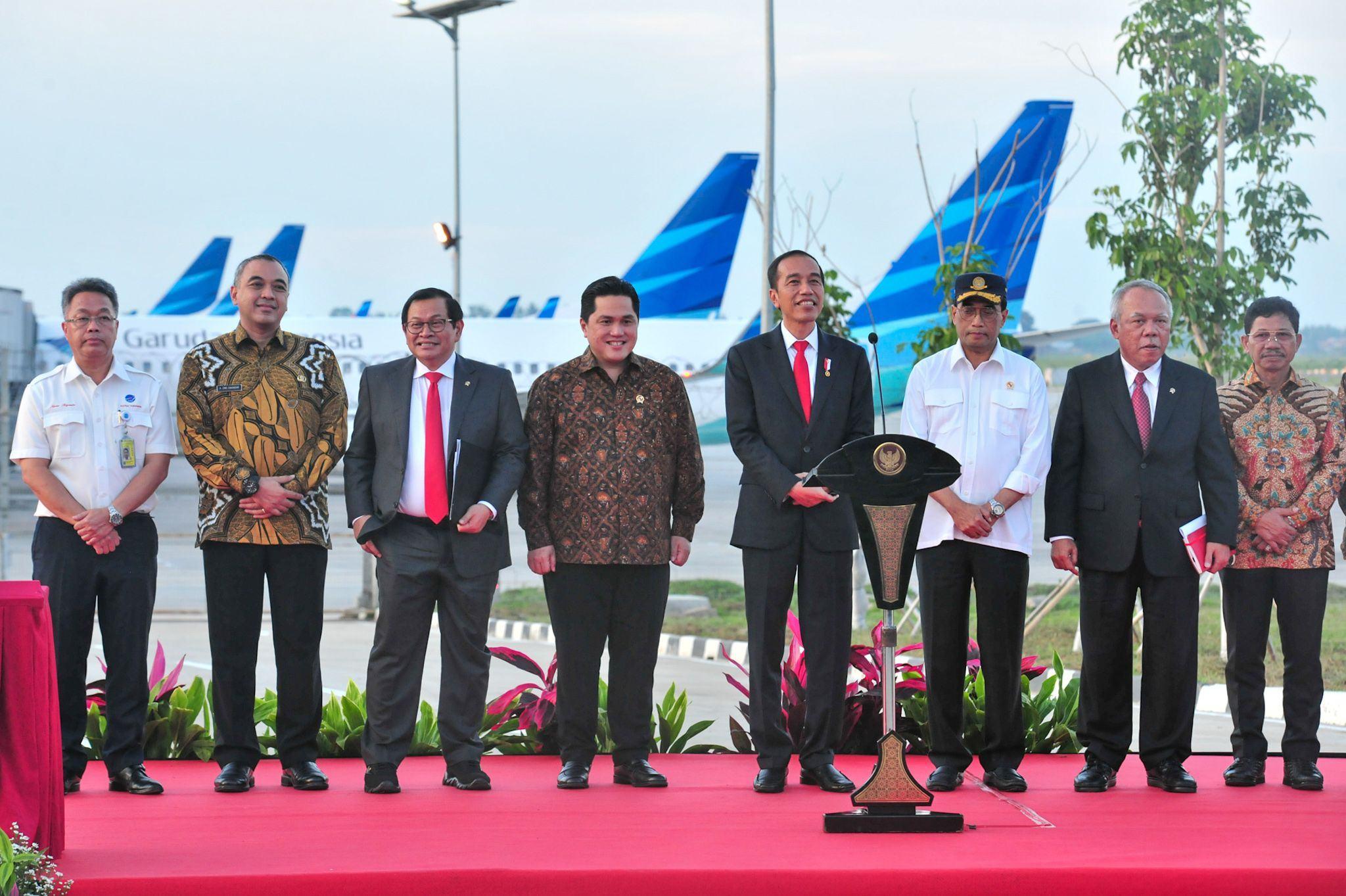Resmikan Runway 3 Bandara Soetta, Jokowi: Tahun 2022 Sudah Punya Terminal Keempat