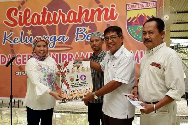Silaturahmi Kwarda Gerakan Pramuka Sumut, Sabrina Berpesan Jaga Kekompakan