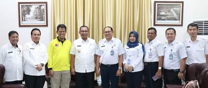BMKG Wilayah I Medan - Plt Walikota Medan Bahas Pemetaan Daerah Rentan Gempa