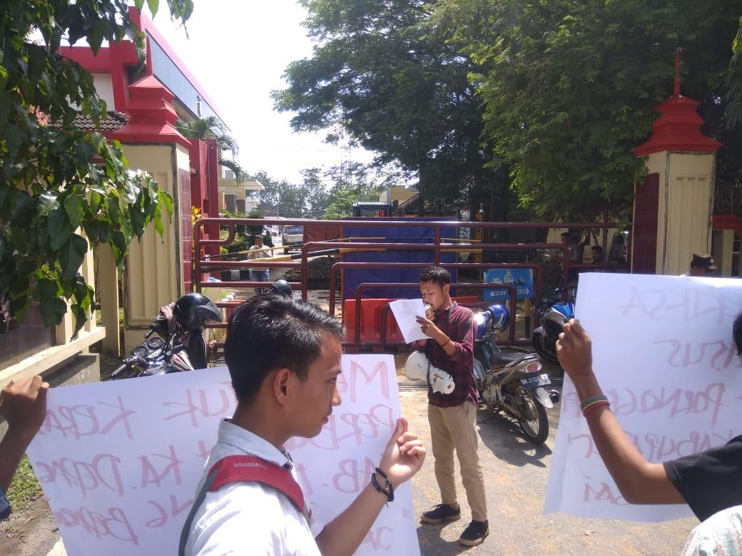 JMM Sumut, Mengutuk Keras Moral Bupati Padang Lawas Utara